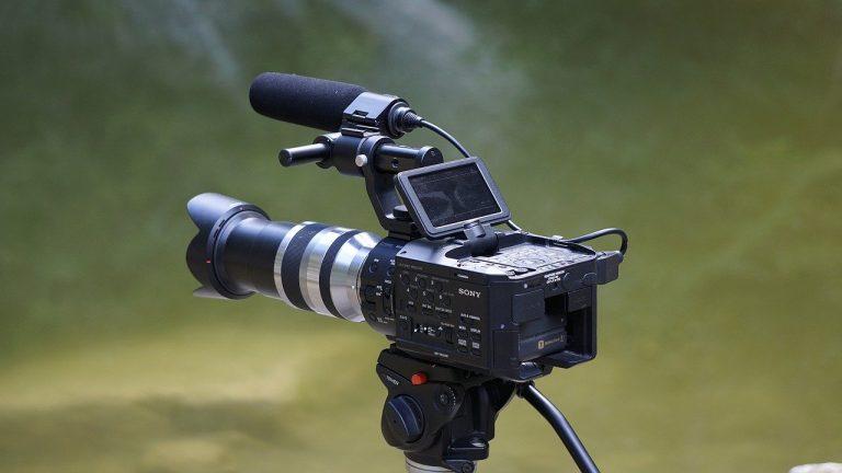 camera, video, tv