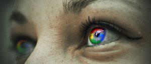 eye, google, detail